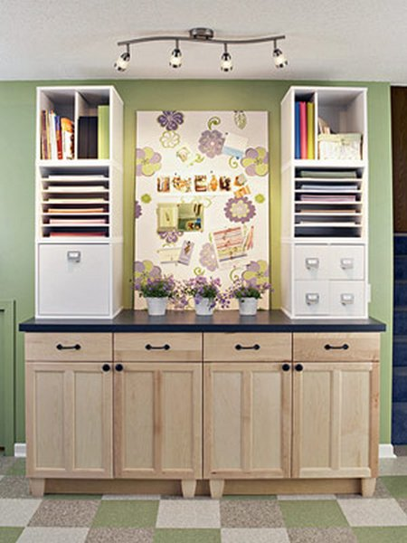 Simple Scrapbooking Storage Ideas