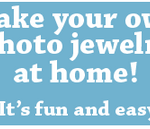 Make Your Own Photo Jewelry!  {Giveaway}