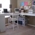DIY Craft Studio Desk