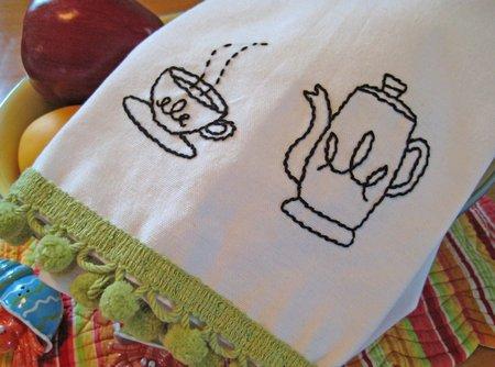 sublime tea towel