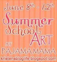 SummerSchoolArtAtPajamaMama