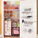 A Scrapbooking Storage Closet
