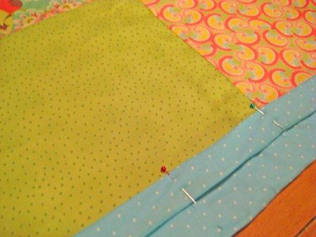finishing quilt