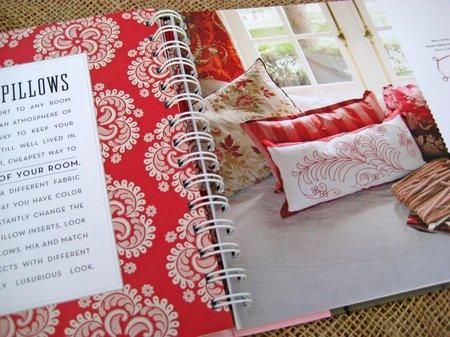 home sewn pillows