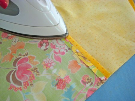ironing quilt