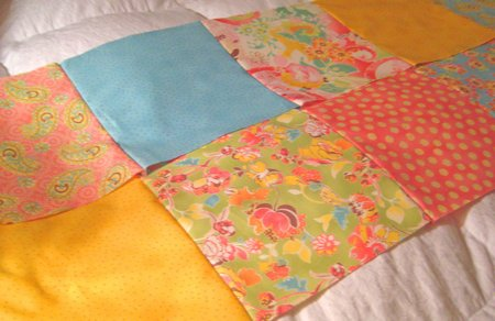 strips of quilt