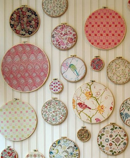 Genial Think About Just How Easy This Would Be To Duplicate In Your Home Using  Your Favorite Fabrics. Sometime You Can Find These ...