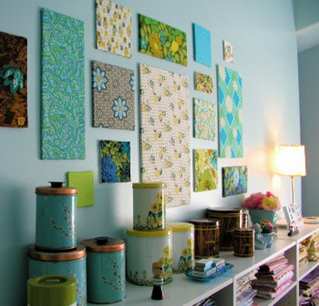 studio fabric wall decor 4