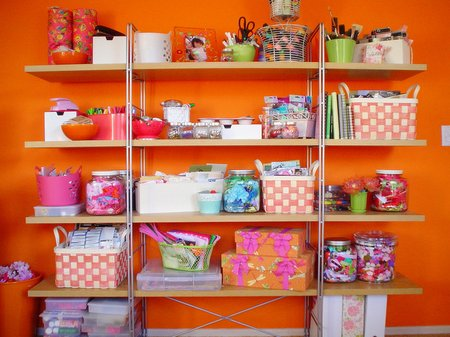 organizing craft room. tara-anderson-craft-room lg