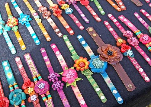 craft show - bracelets