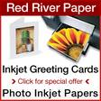 Win A Photo Printer and $100 Gift Certificate from Red River Paper