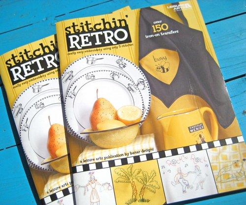 stitchin' retro books