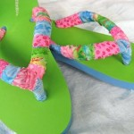 Flip Flops – Make Your Own With Fabric Scraps! {Tutorial}