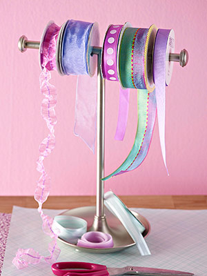 Ribbon Storage Can Be Sweet And Easy With A Hand Towel Rack. Youu0027ll Have  Your Ribbon Organized In Minutes!