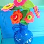 Button Flower Bouquet {Tutorial}