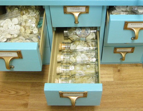 Craft Spaces Cathe holden ButtonDrawers