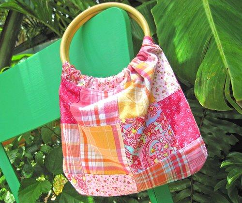 bamboo handle purse 2