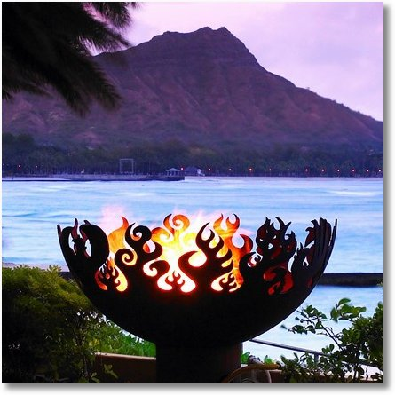 JohnTUnger Sells this amazing Hand Cut and Shaped Firebowl on Etsy