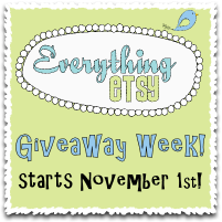 Giveaway Week at EverythingEtsy.com