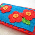 Felt Business Card Holder {tutorial}