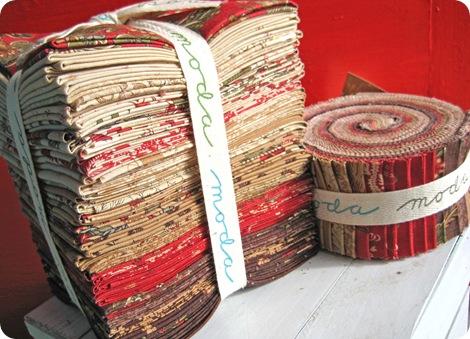 Maison De Garance Fat Quarter Bundle and Jelly Roll
