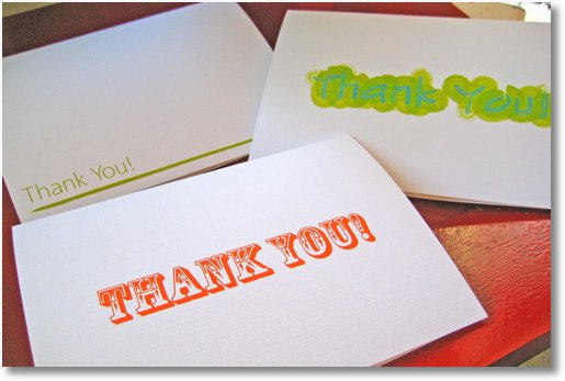 Red River Thank You Cards 1