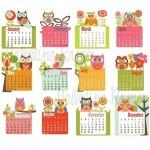 Calendars on Etsy