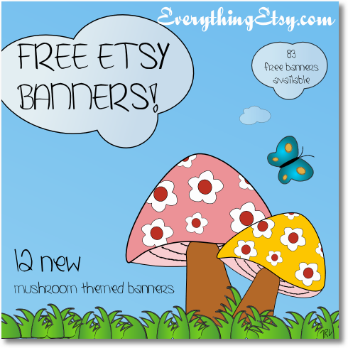 free etsy banner announcement