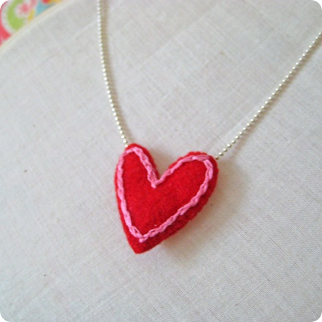 heart necklace 1