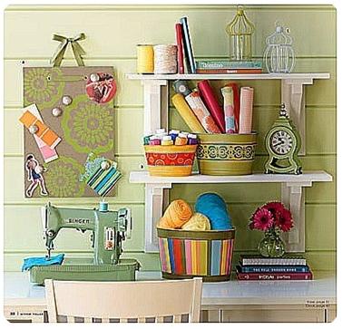 craft room - vintage
