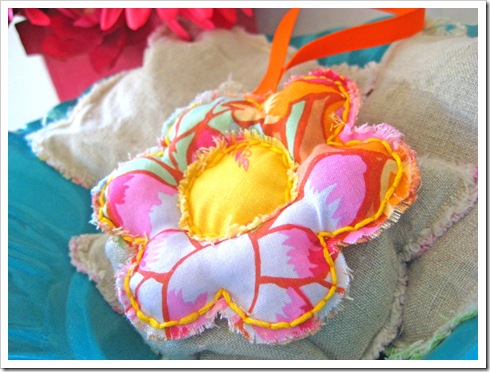 Flower Lavender Sachet Tutorial 1