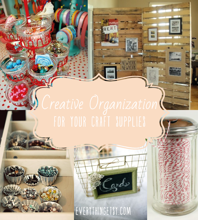 DIY Organization for Your Craft Supplies