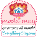 Moda Giveaways all Month!
