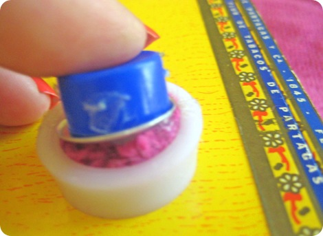 embroidered fabric covered button tutorial 6