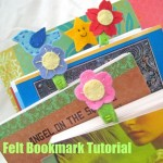 Felt Bookmarks {Tutorial} – Back-to-School