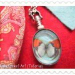 Locket Art {Tutorial}