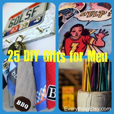 25 handmade gifts for men diy for Easy gifts for men