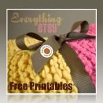 Handmade Label Printables {Free Downloads}
