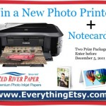 Win a Canon Photo Printer and Paper from Red River Paper {Two Winners!}