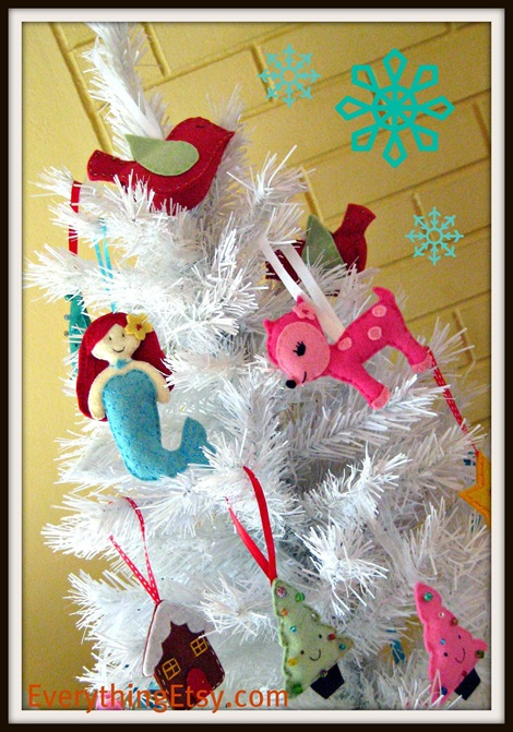 Felt Christmas Ornaments 2