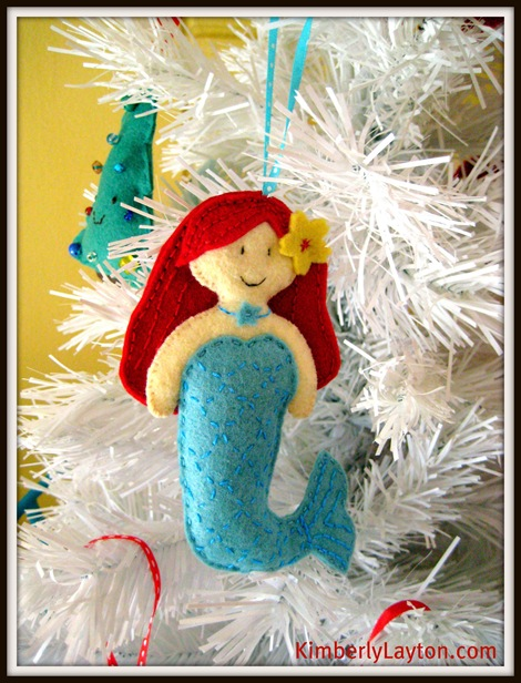Mermaid Ornament 1