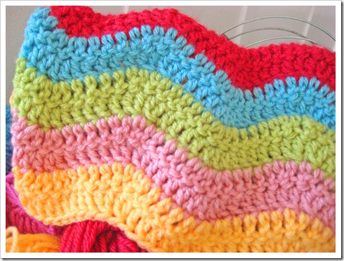 crochet ripple blanket1