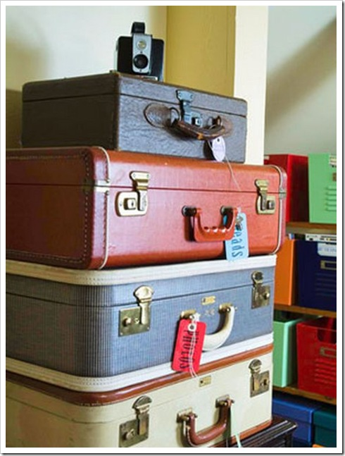 Vintage Suitcases Are One Of My Favorite Things I Don T Even Know How That Happened Maybe It S My Love Of Travel Or The Thought Of Far Away Cities The