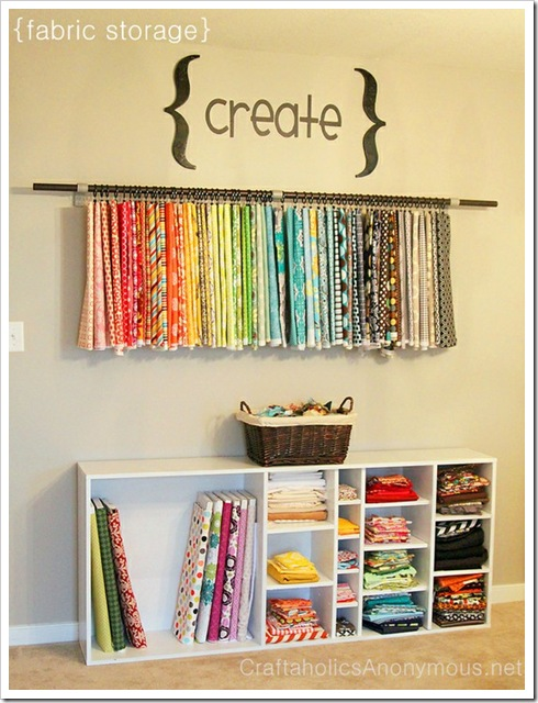 22 tips to organize your craft room - Organizing craft supplies in small space collection ...