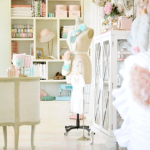 Vintage Sewing Room {Ruby Jean}