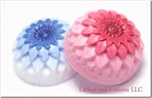 flowering soap mold