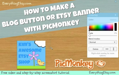 picmonkey tutorial EverythingEtsy