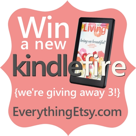 Win a Kindle Fire at EverythingEtsy.com