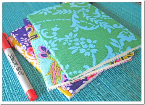 fabric covered notebooks 2