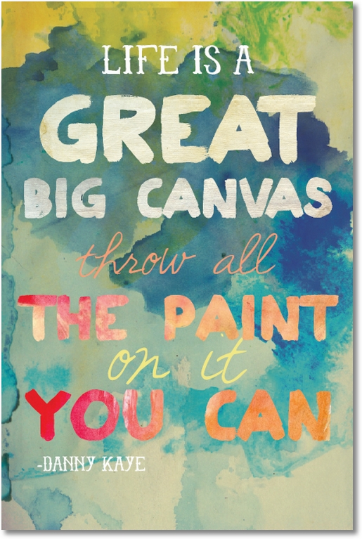 image regarding Printable Quotes About Life named Lifestyle is a Ideal Huge Canvas Cost-free Printables